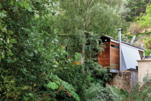 waterfall gully extension exterior